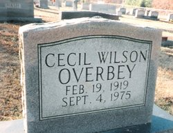 PFC Cecil Wilson Overbey