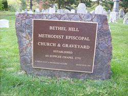 Bethel Hill Methodist Episcopal Church Cemetery