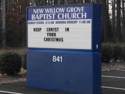 New Willow Grove Baptist Church Cemetery