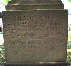 Charlotte Adams <I>Sanford</I> Barnes