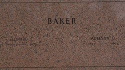 Adelynn Olive <I>Bakke</I> Baker
