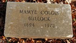 """Anna Mary """"Mamye"""" <I>Colgin</I> Bullock"""