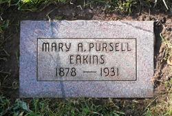 Mary Amanda <I>Pursell</I> Eakins