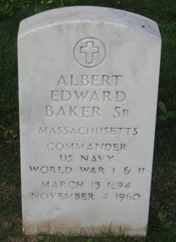 Albert E Baker, Sr