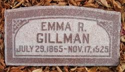 Emma <I>Robbins</I> Gillman