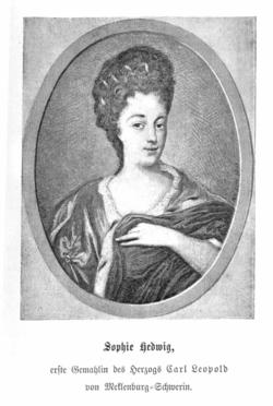 Sophia Hedwig <I>von Nassau-Diez</I> von Mecklenburg-Schwerin