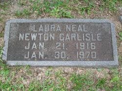 Laura Neal <I>Newton</I> Carlisle