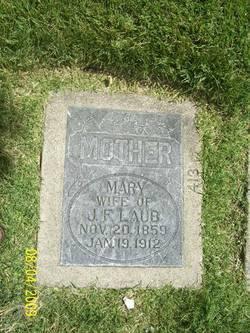 Mary Elizabeth <I>Pulsipher</I> Laub