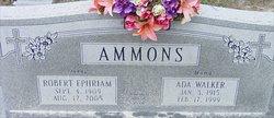 Ada <I>Walker</I> Ammons
