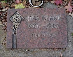 Nina Pearl <I>Olmstead</I> Clark