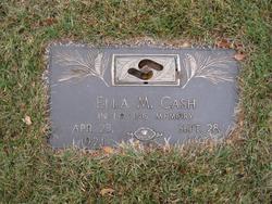 Ella Mae <I>George</I> Cash