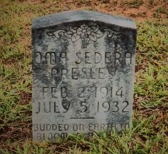 """Oma """"Sedera"""" Presley"""
