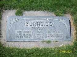 Mary Loretta <I>Rowe</I> Burnside