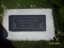 Emma H Burr