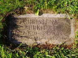 Christena <I>Vaught</I> Burkhart