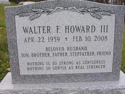 Walter F. Howard, III