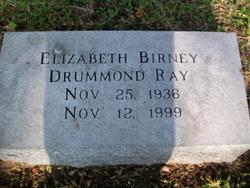 Mrs Elizabeth Birney <I>Drummond</I> Ray