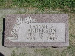 Hannah S Anderson