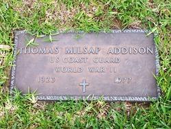 Thomas Milsap Addison