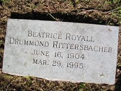 Beatrice <I>Royall</I> Drummond Rittersbacher
