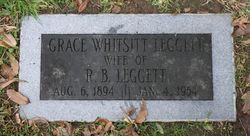 Grace <I>Whitsitt</I> Leggett