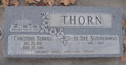 Christian Terrill Thorn