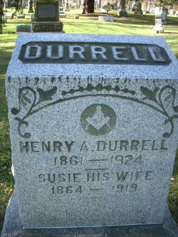 Mrs Susan <I>Conn</I> Durrell