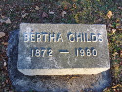 Bertha <I>Sullivan</I> Childs
