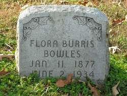 Flora <I>Burris</I> Bowles
