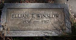 Elijah T. Winslow