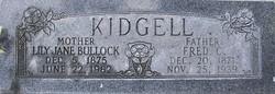 Fredrick Cashmore Kidgell