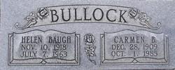 Helen <I>Baugh</I> Bullock
