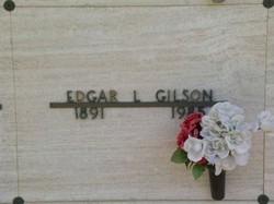 Dr Edgar LeRoy Gilson