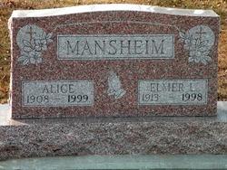 Elmer L Mansheim