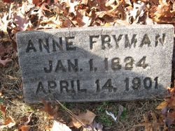 Mrs Anne <I>McMillen</I> Fryman