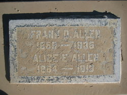 Alice E. Allen