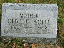 Olive B. <I>Bartram</I> Wolfe