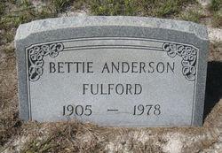 Bettie <I>Anderson</I> Fulford
