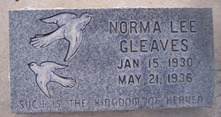 Norma Lee Gleaves