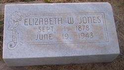 Elizabeth <I>Williams</I> Jones