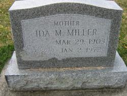 Ida Marie <I>Brubaker</I> Miller