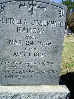 Florilla Josephine <I>Williams</I> Ramsay
