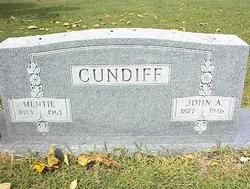 Mentie <I>Thedford</I> Cundiff