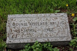 Minnie <I>Koelker</I> Bruhn