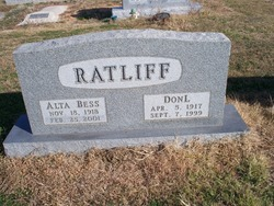 Alta Bess <I>Bledsoe</I> Ratliff