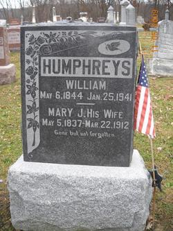 Mary Jane <I>Caton</I> Humphreys