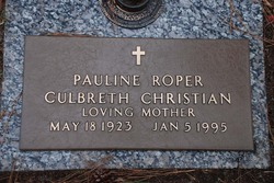 Pauline <I>Roper</I> Christian