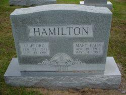 Mary Faun <I>Shelton</I> Hamilton