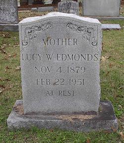 Lucy W <I>Spence</I> Edmonds