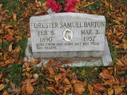 Forester Samuel Barton
